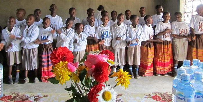 Ugandan Children Singing